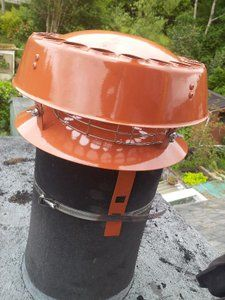 fit a chimney liner roofcowl