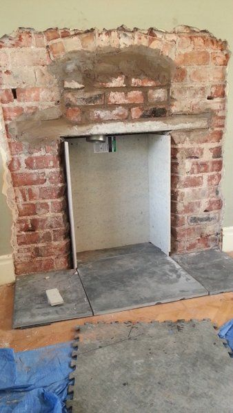 Cement Board Chimney : Lining a fireplace great results the stove fitter s manual