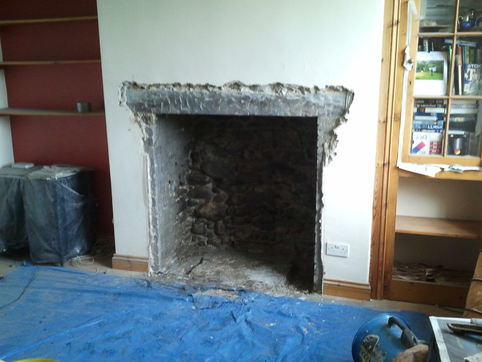 Opening up a fireplace for the installation of a wood burning stove opening up a fireplace for the installation of a wood burning stove the stove fitters manual teraionfo