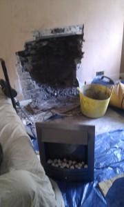 fireplace for wood burner
