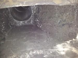 pot lined chimney flue