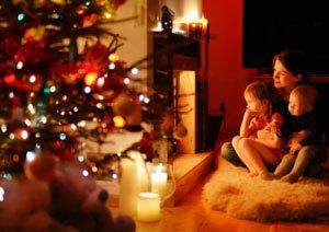 Christmas stove