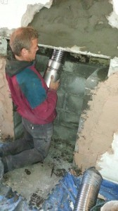 316 or 904 chimney flue liner
