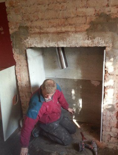 6 Quot Chimney Flue Liner The Facts From A Full Time Stove