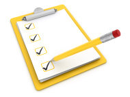 stock-photo-7564428-ticks-on-clipboard-and-pencil