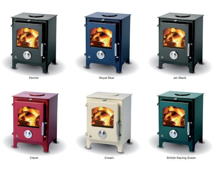 Newton stoves colours