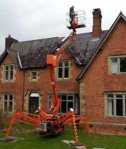 cherrypicker and chimney liner