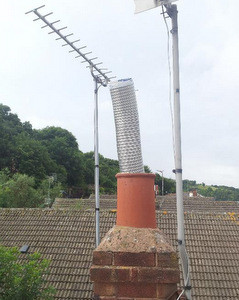 how to fit a chimney flue liner