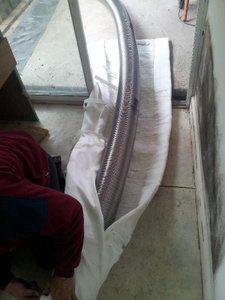 chimwrap flue liner wrap