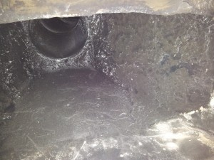 pot lined chimney flue