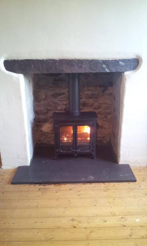 Rendering A Fireplace For A Wood Burning Stove The