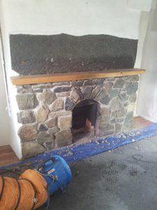 enlarging a fireplace