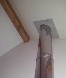 installing a twin wall flue