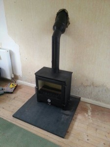 installing a twin wall flue chilli p