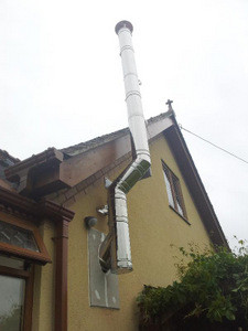 Installing A Twin Wall Flue Chimney A Stove Installer