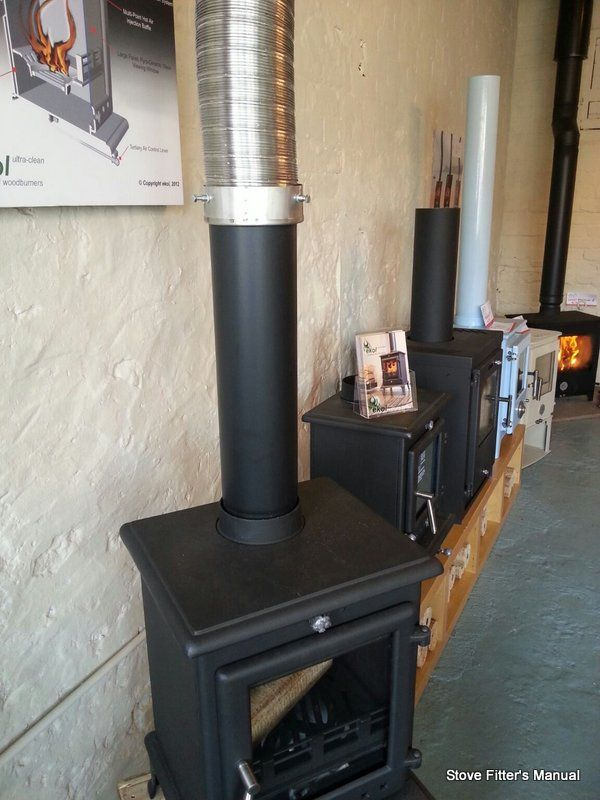 Stove To Flue To Adaptor To Liner The Stove Fitter S Manual