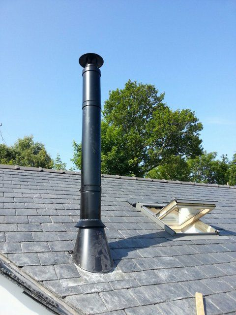 Twin Wall Flue Installations Using Dinak The Stove