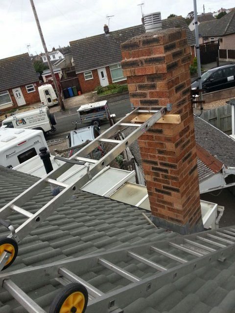 Access And Safety When Fitting Liner Roof Ladders